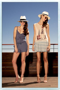 Vistidos y sombreros para playa