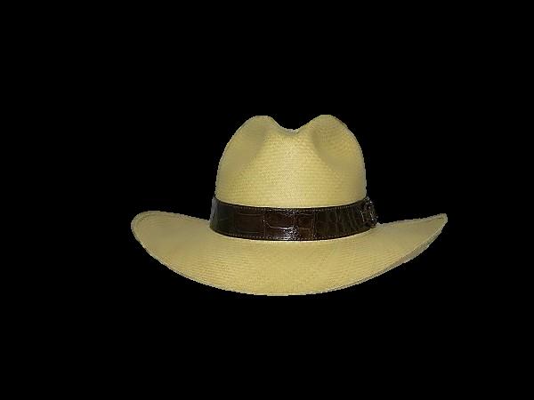 c1da057896f13 Sombrero Panamá Fedora Rodeo Montecristi 20 Hebras