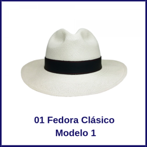 Sombrero Panama Fedora Clasico Modelo1