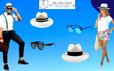Sombreros y Lentes con Protección Solar