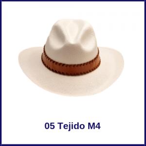 Sombrero Panama Vaquero 05 Tejido M4