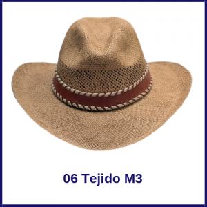 Sombrero Panama Vaquero 06 Tejido M3