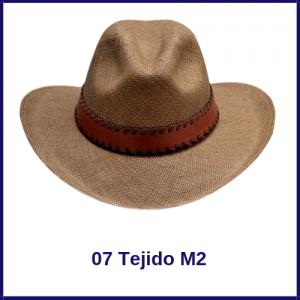 Sombrero Panama Vaquero 07 Tejido M2