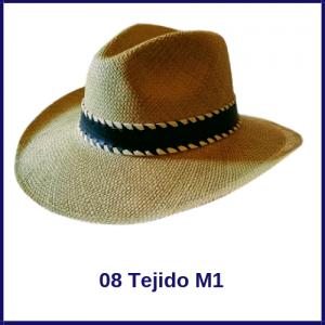 Sombrero Panama Vaquero 08 Tejido M1.1