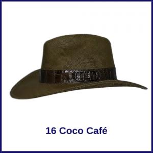 Sombrero Panama Vaquero 16 Coco Café
